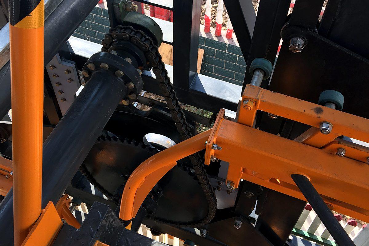 Механизм роторной автоматизированной парковки