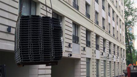Поставка парковочных подъемников для жилого комплекса бизнес-класса