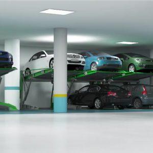 Парковка в низком паркинге