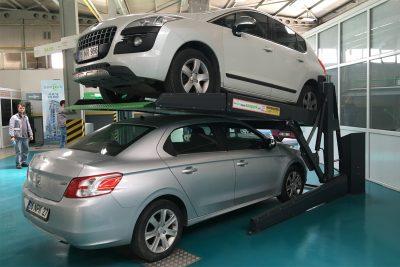 Парковочный подъёмник для помещений с низкими потолками