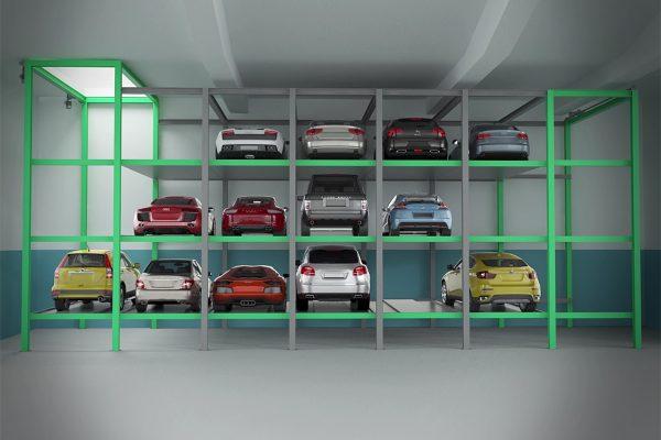 Автоматизированная парковка Оптима
