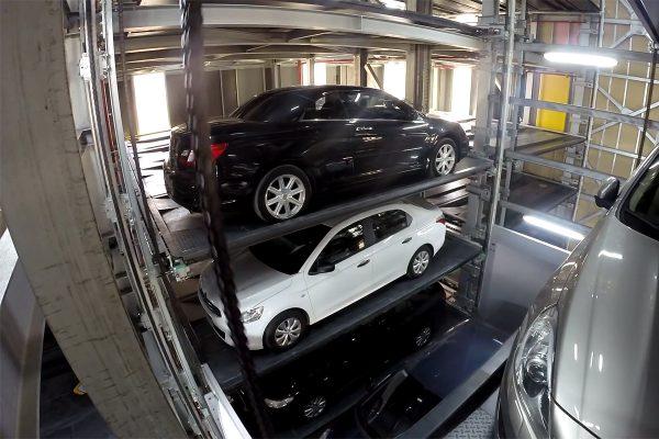 Автоматизированная парковка типа Шаттл