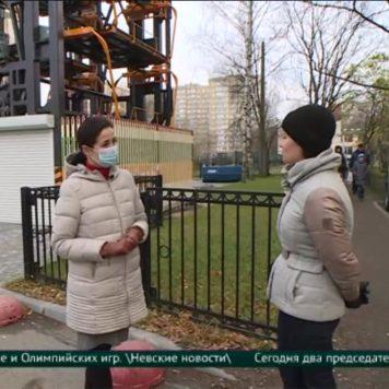 Репортаж канала Санкт-Петербург о вертикальных парковках