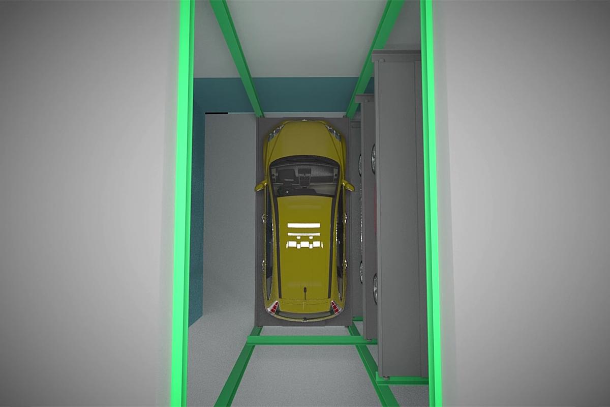 Лифт автоматической парковочной системы Оптима