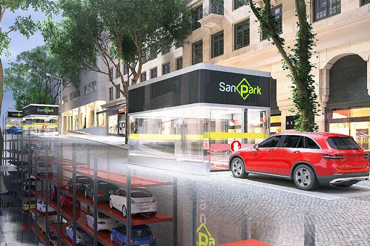 Башенная парковка для исторических и центральных кварталов