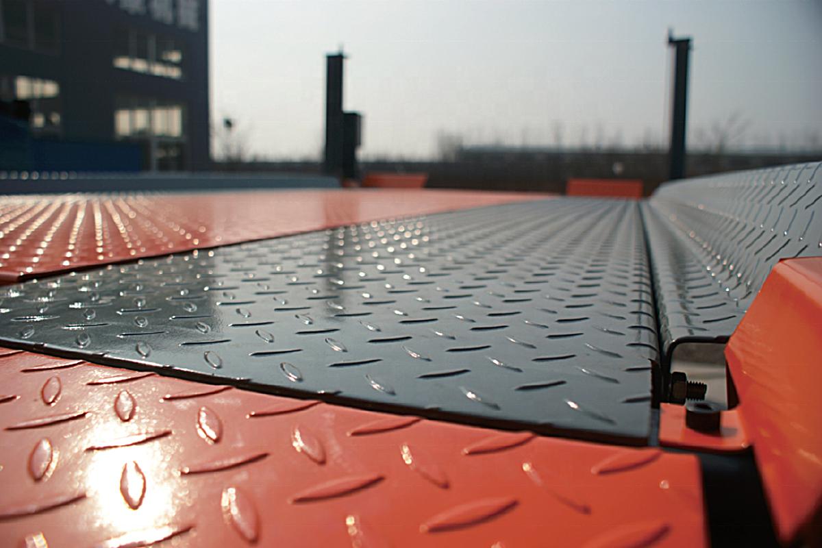 Платформа китайского парковочного подъёмника