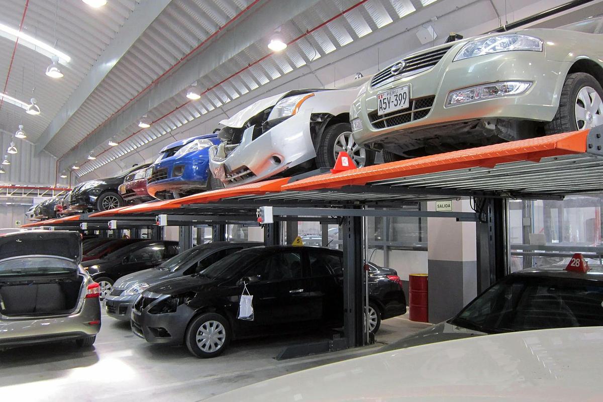 Китайские парковочные подъёмники в механизированном паркинге