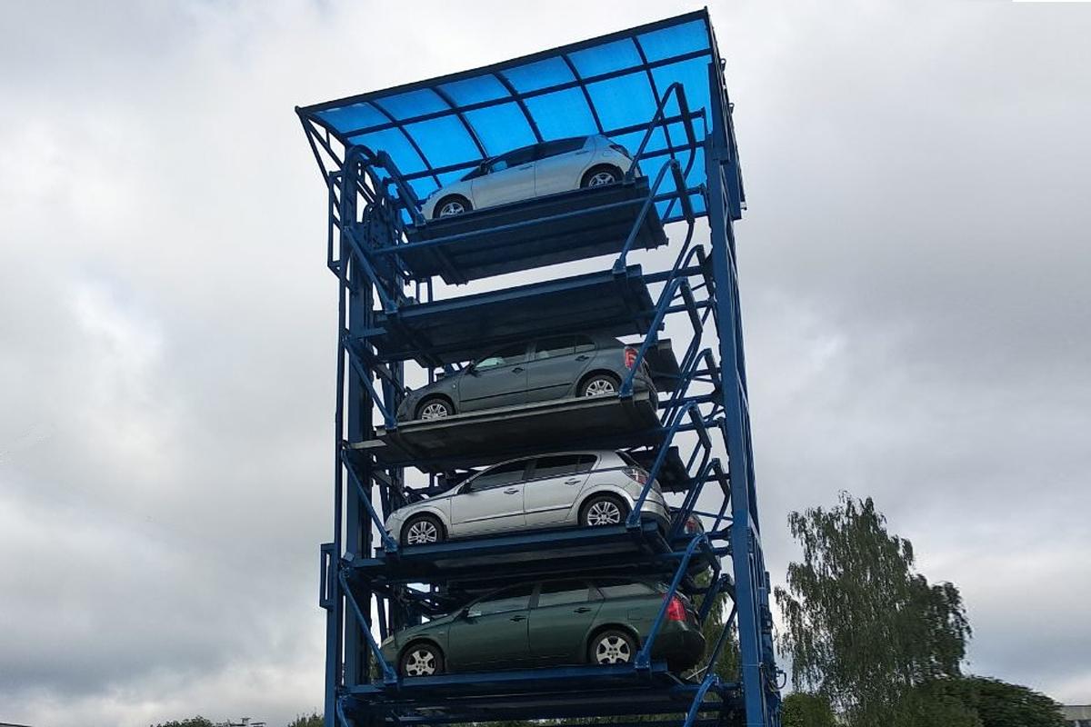 Роторная карусельная парковка белорусского производства