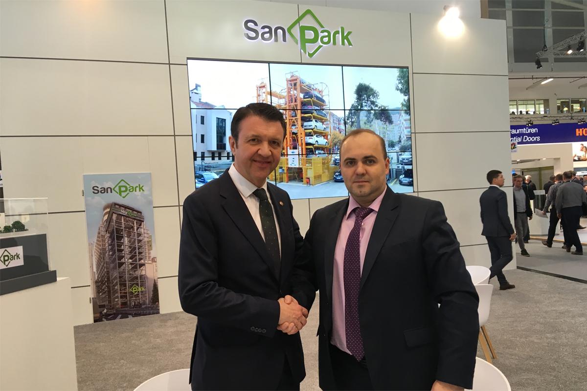 Переговоры с производителем парковок SanPark