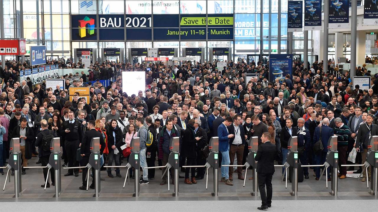 Открытие выставки BAU 2019