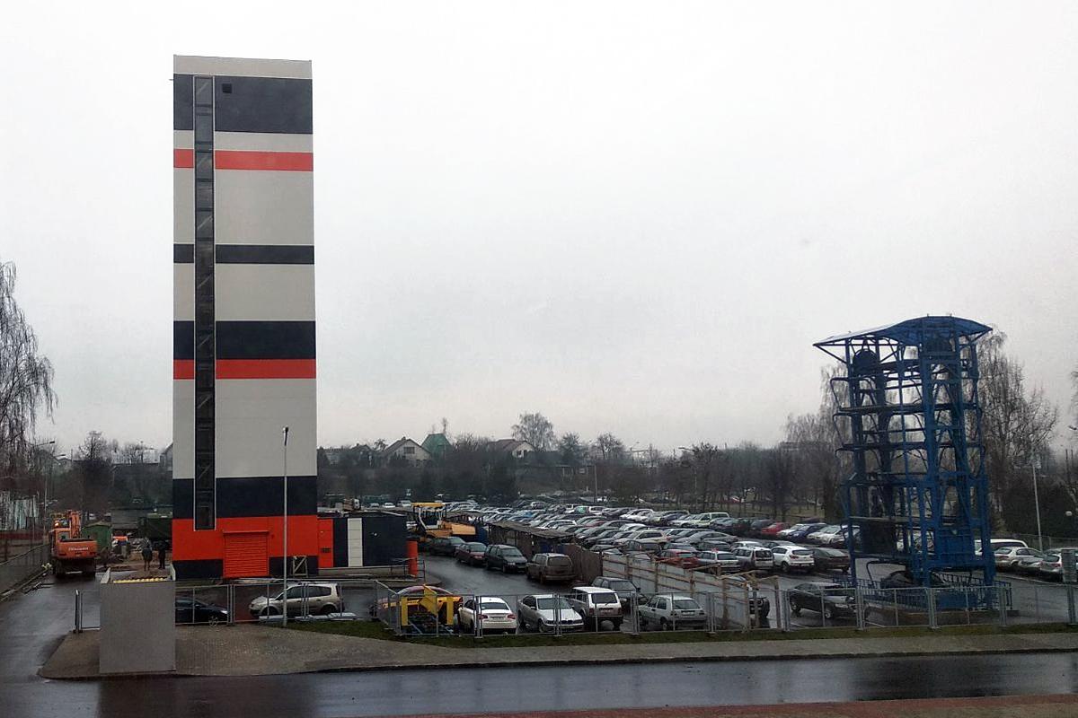 Башенная лифтовая парковочная система и роторная вертикальная многоуровневая парковка
