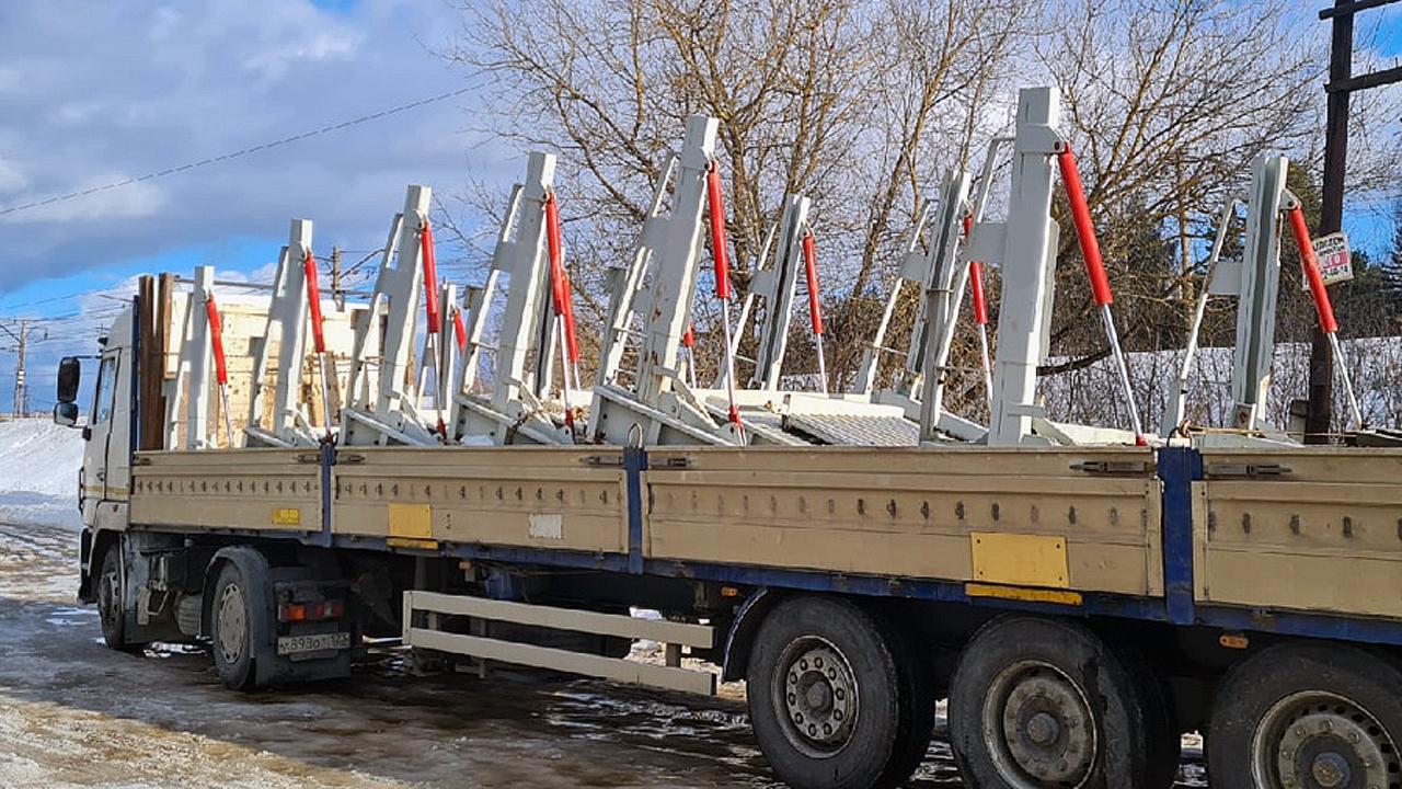 Доставка парковочных подъёмников в Сочи со склада