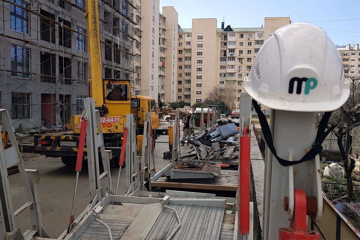 Парковочные подъёмники доставлены в Сочи