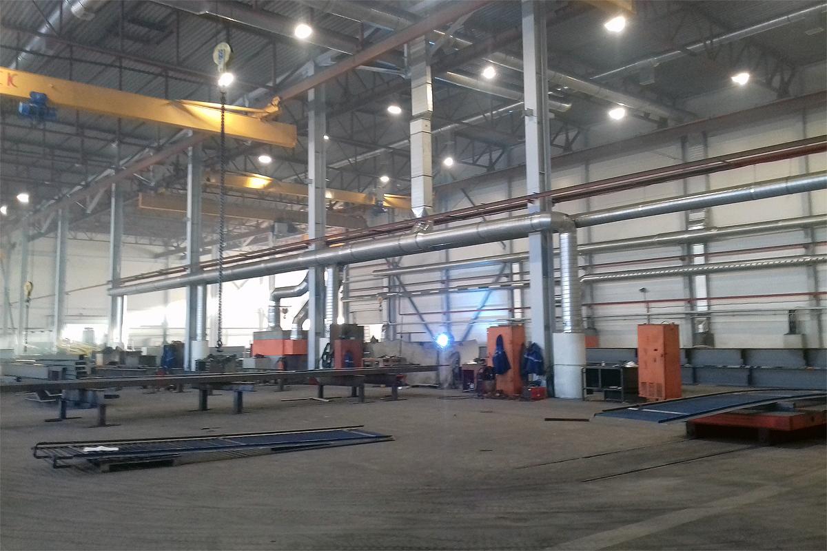 Цех производства парковочных подъёмников
