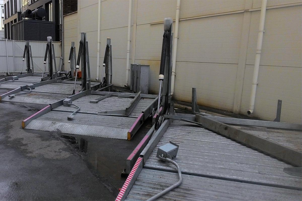 Парковочные подъёмники готовы к отправке