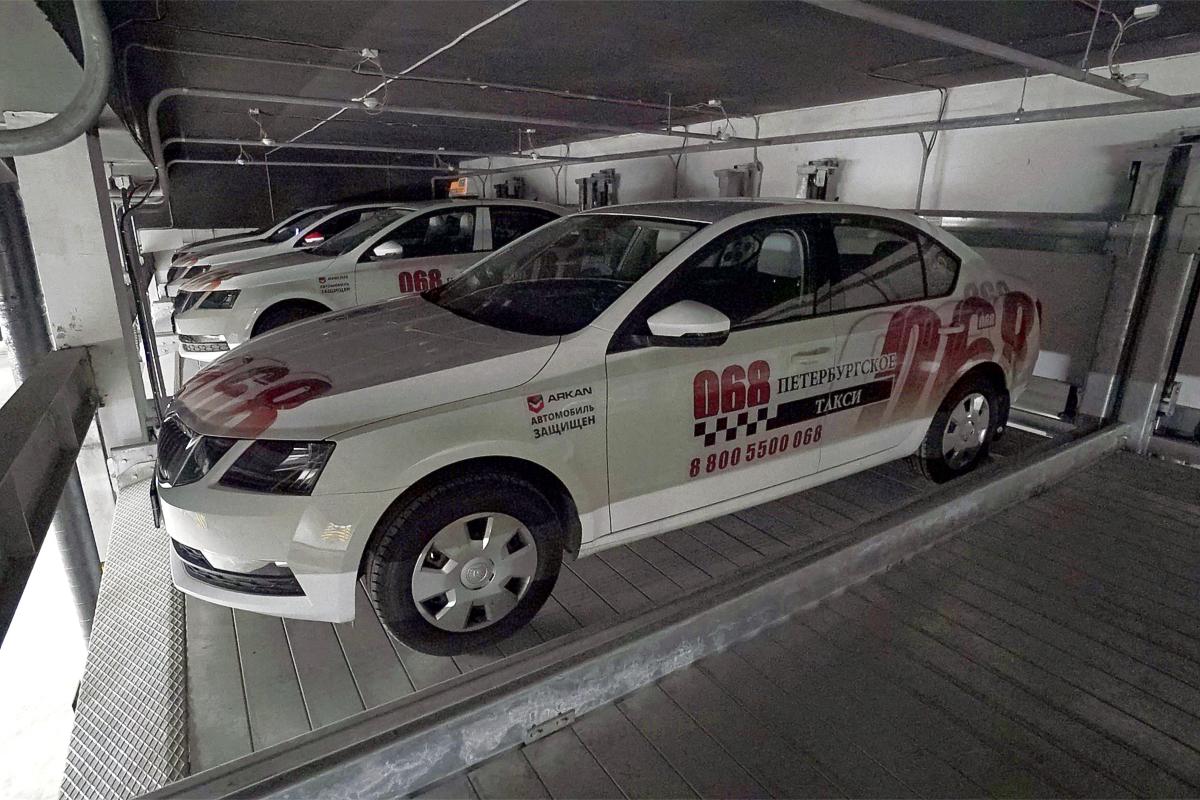 Механизированный подземный паркинг