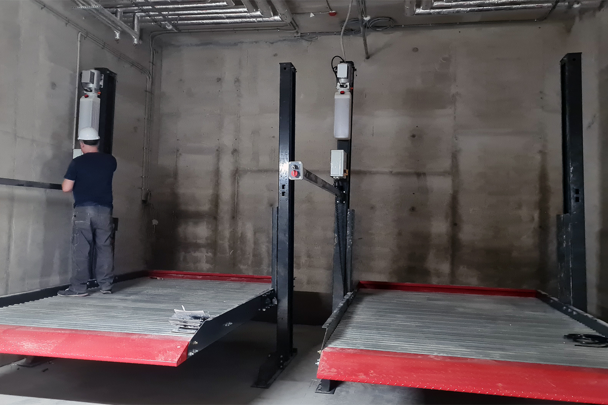 Работы по монтажу и пусконадке оборудование в паркинге ЖК «Riviere Noire»