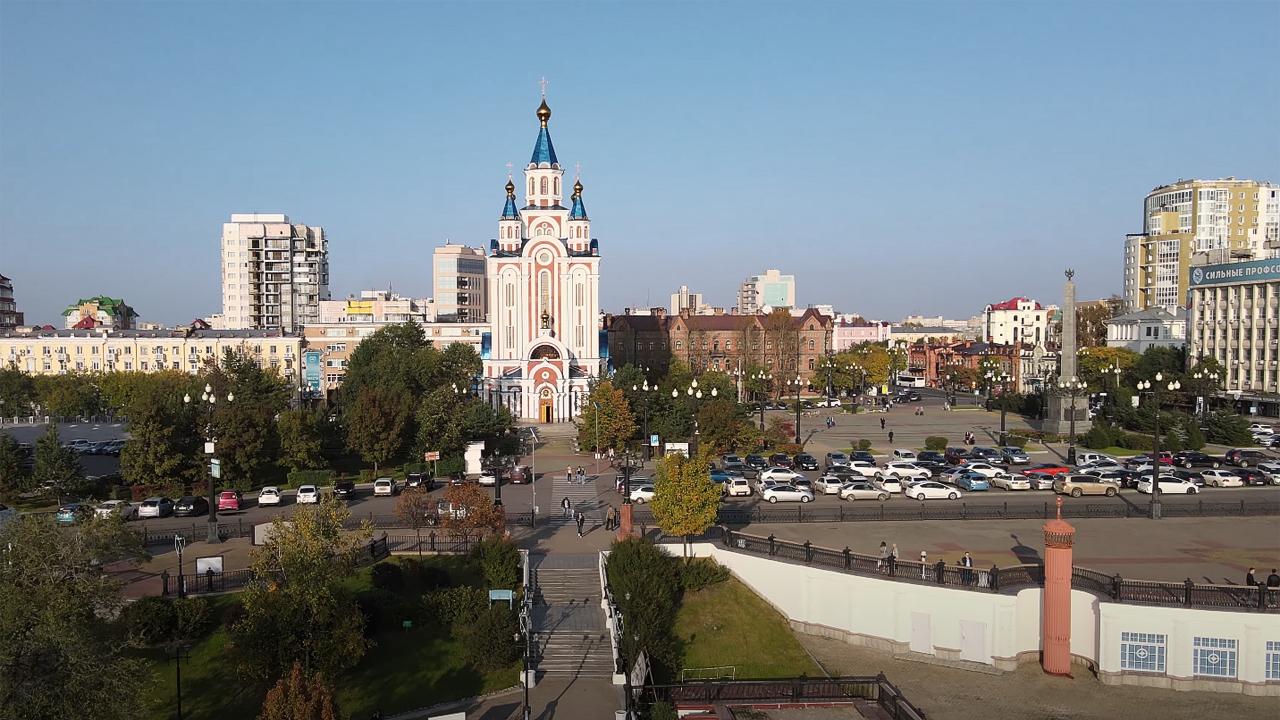 Парковка в Хабаровске