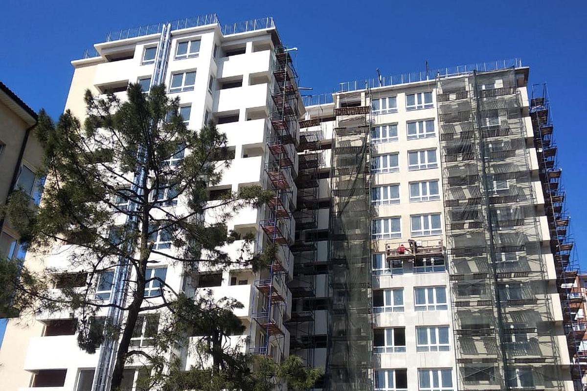 Жилой комплекс в центре Сочи