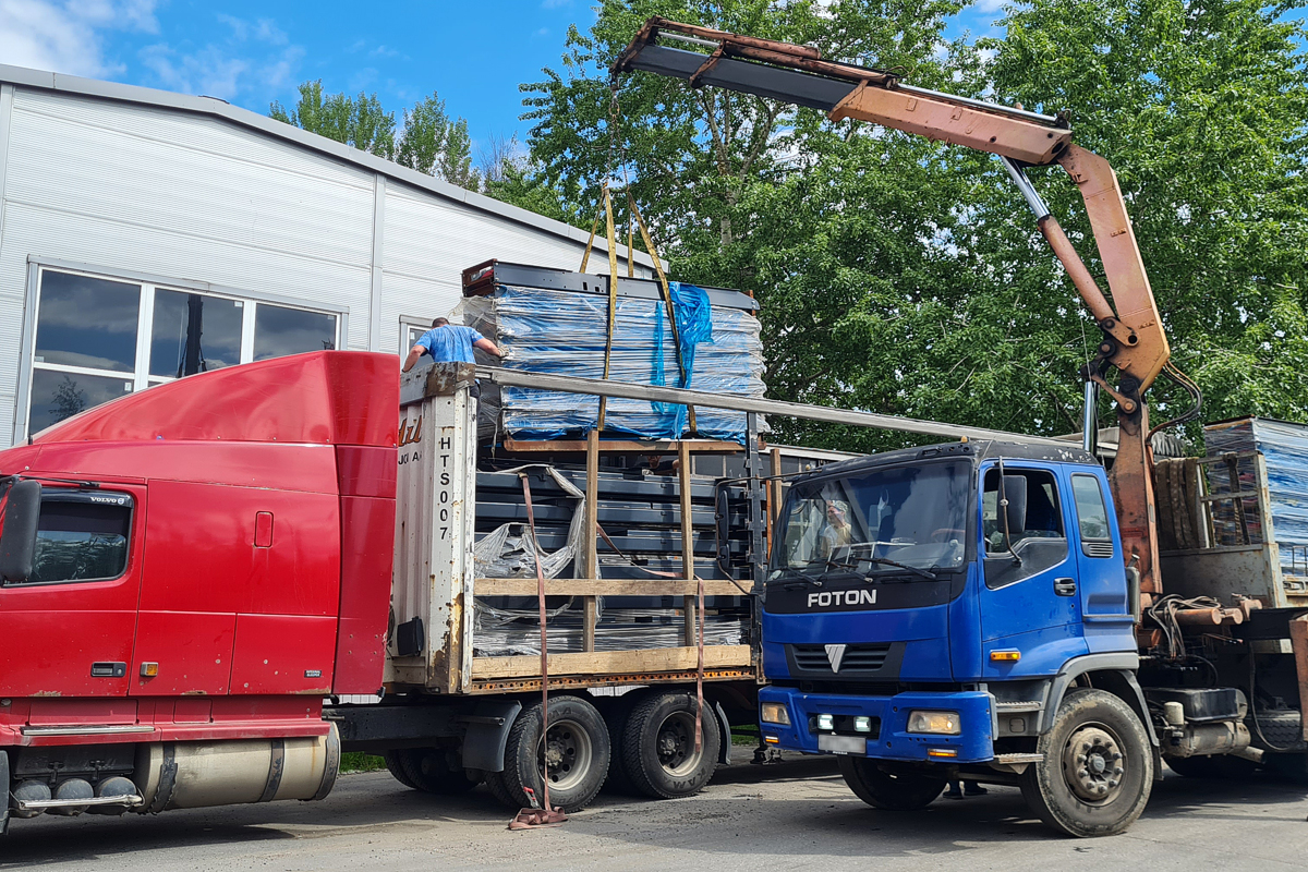 Доставка подъёмников для жилого комплекса в Сочи