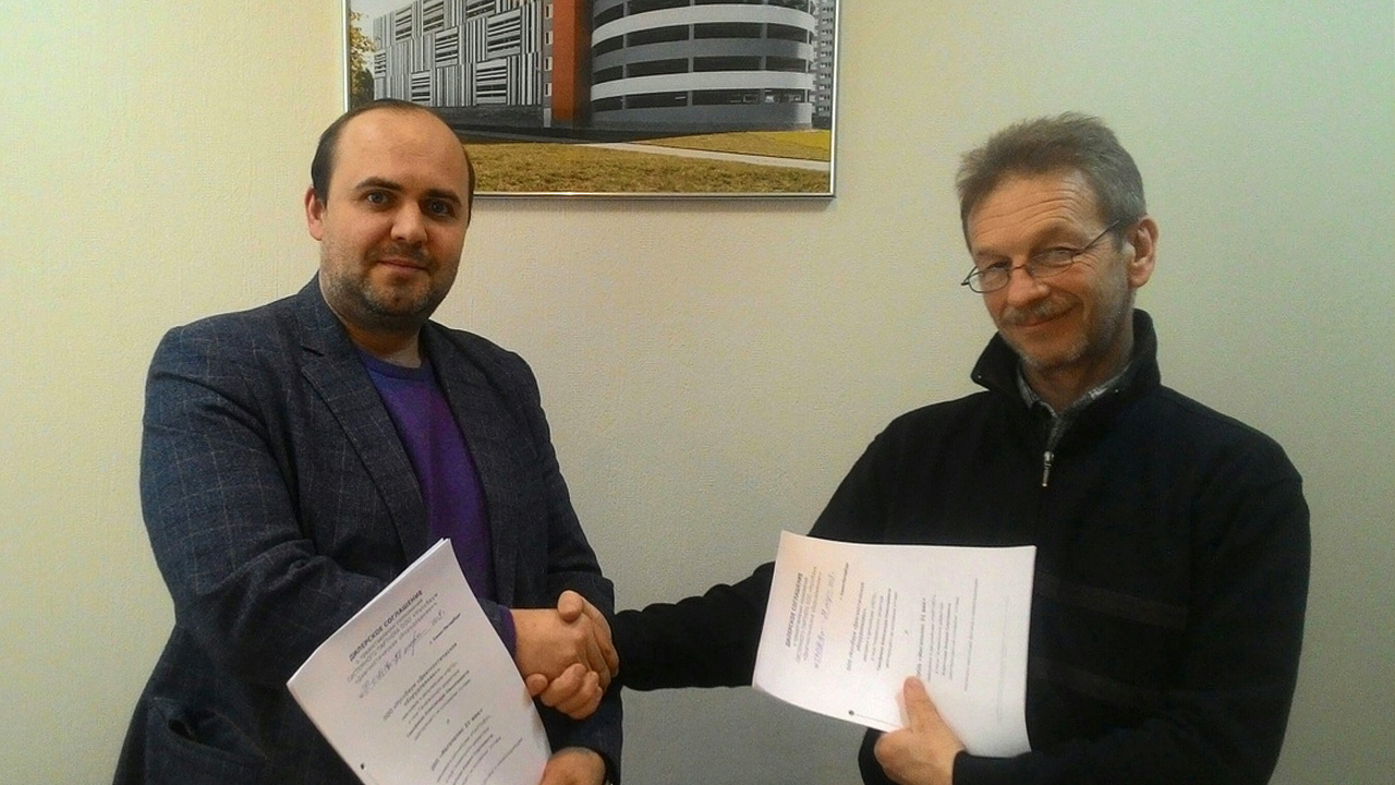 Подписание дилерского соглашения с производителем парковочного оборудования Nussbaum