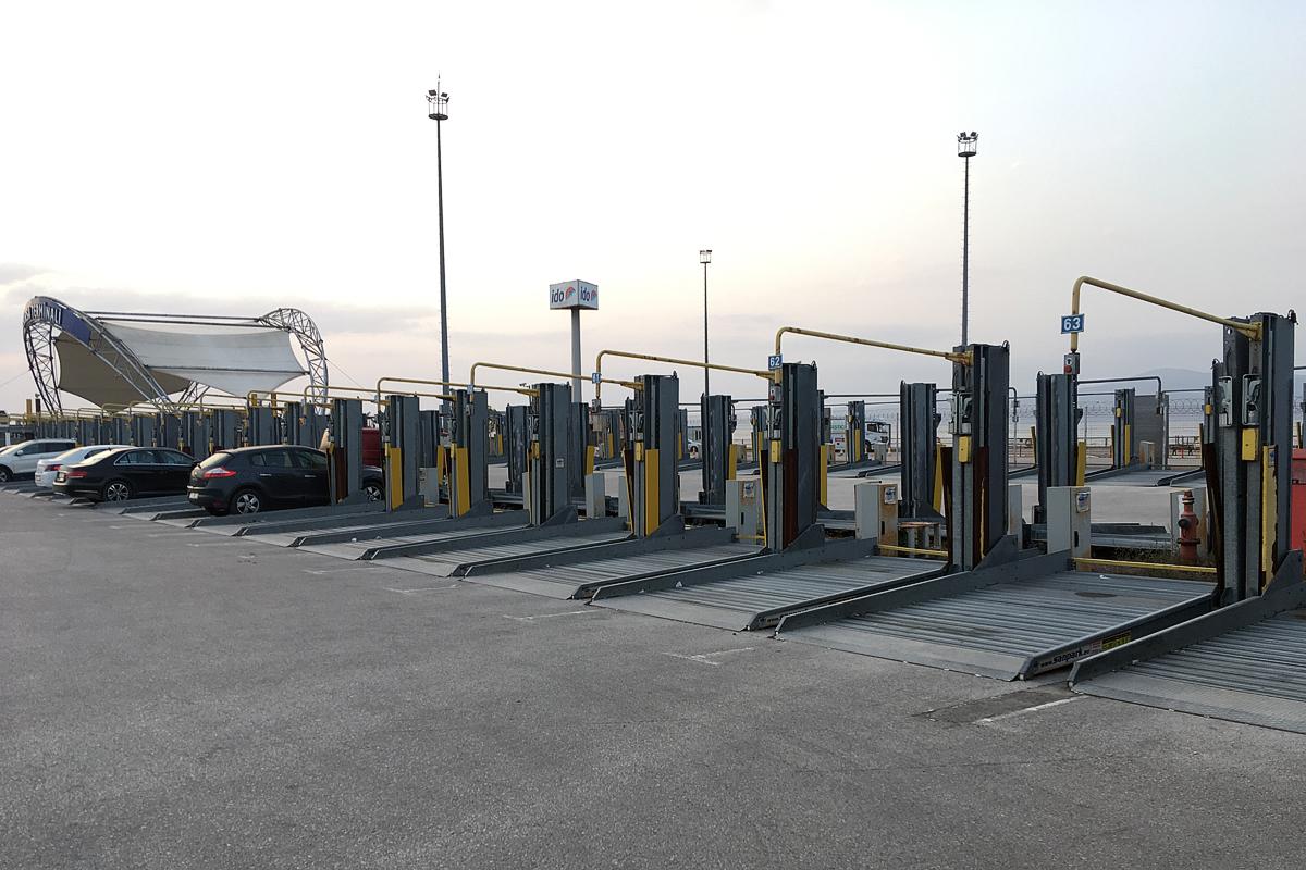 Двухуровневые парковочные подъёмники SanPark