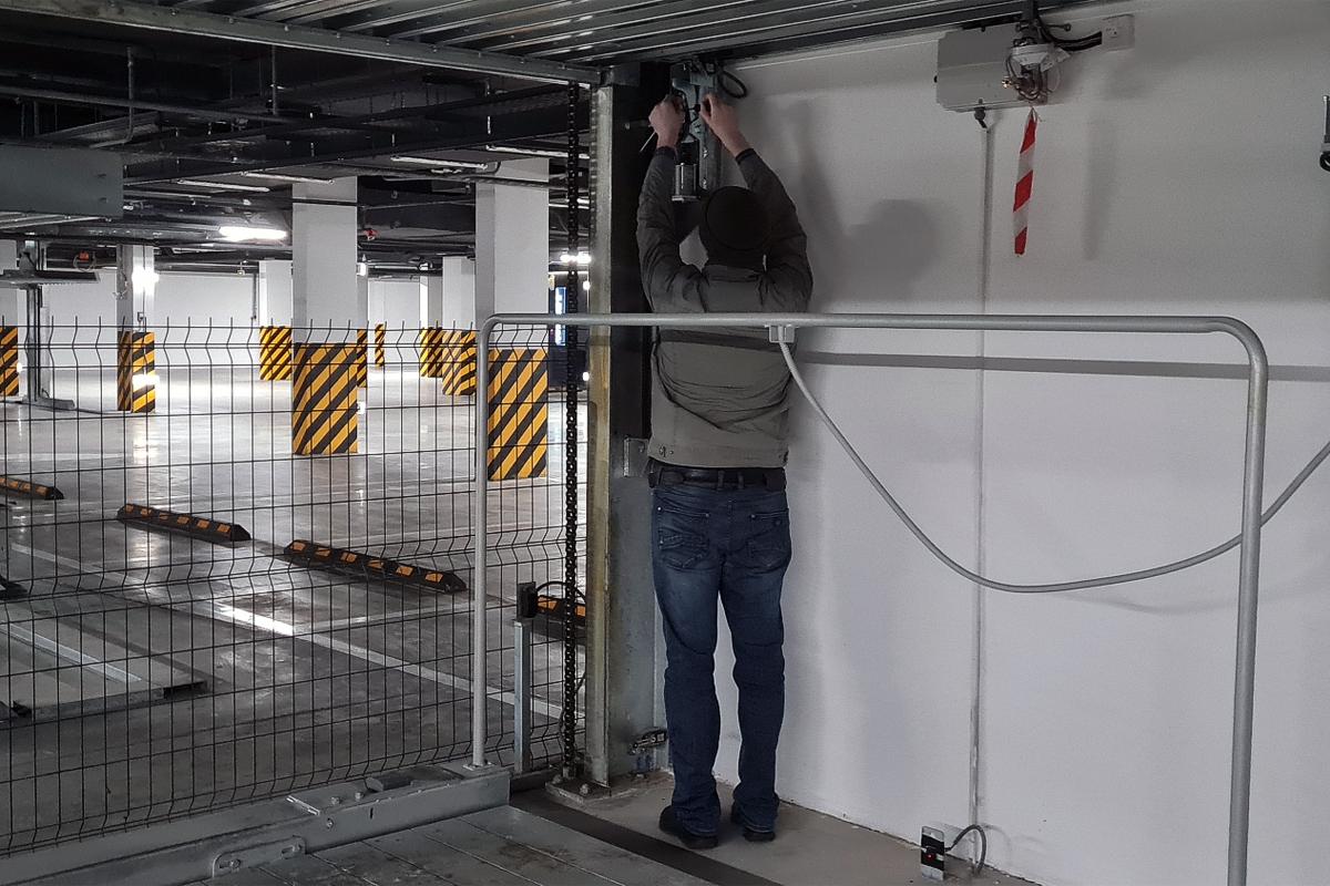 Модернизация парковки