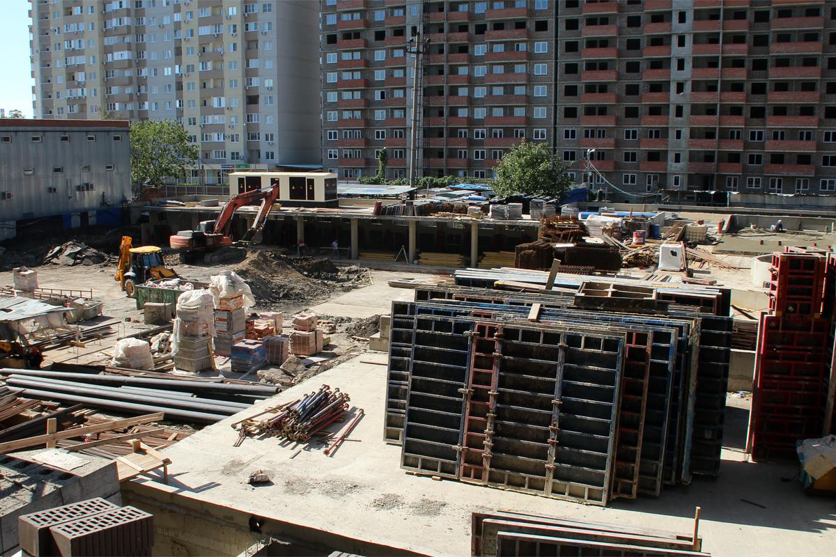 Строительство паркинга в Краснодарском крае