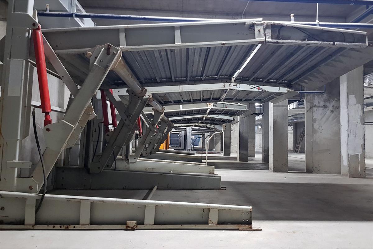 Парковочные системы в жилом комплексе Сочи
