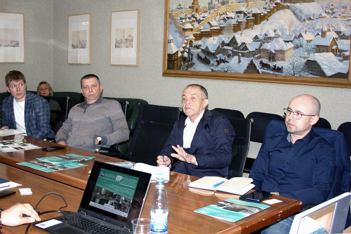 Обсуждение механизированных парковок в ТПП Татарстана