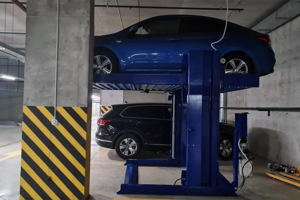 Парковочный подъёмник с вторичного рынка
