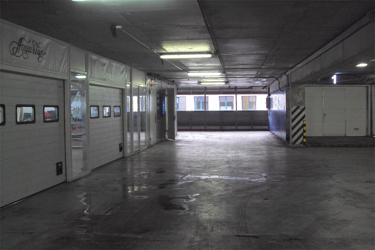 Коммерческие помещения в многофункциональном паркинге