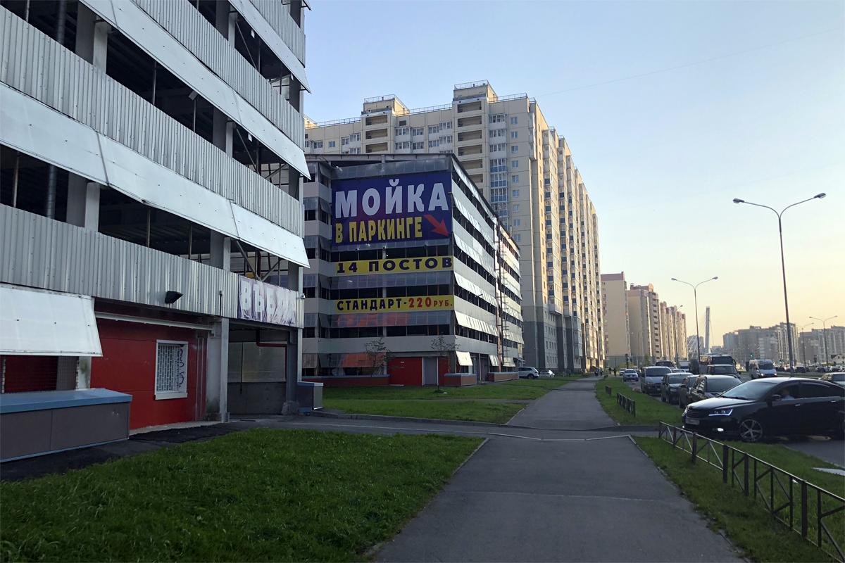 Быстровозводимые паркинги из металлоконструкций