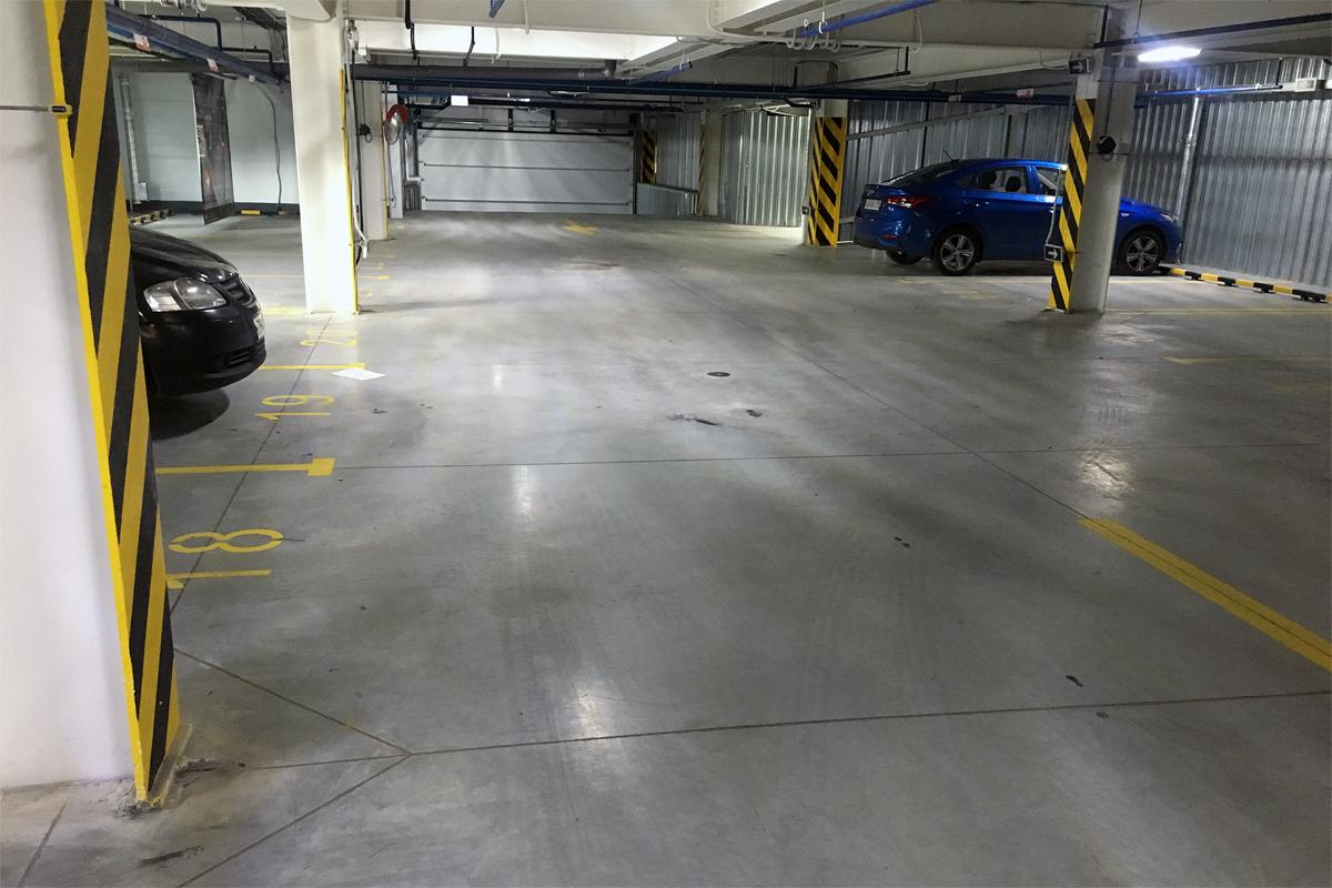 Машиноместа в быстровозводимом многоуровневом паркинге