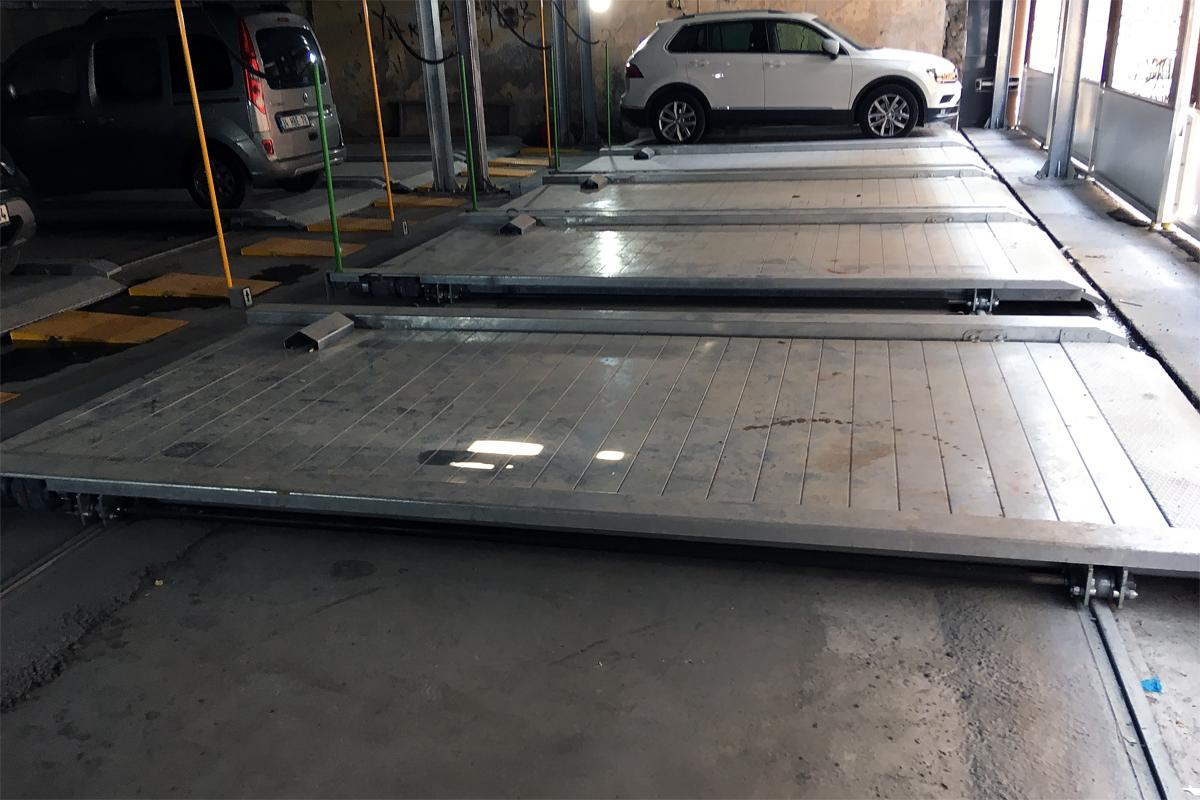 Платформы парковочной системы
