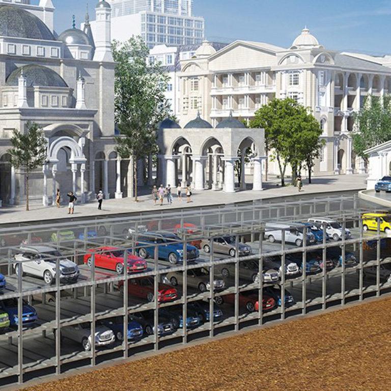 Парковка в историческом центре