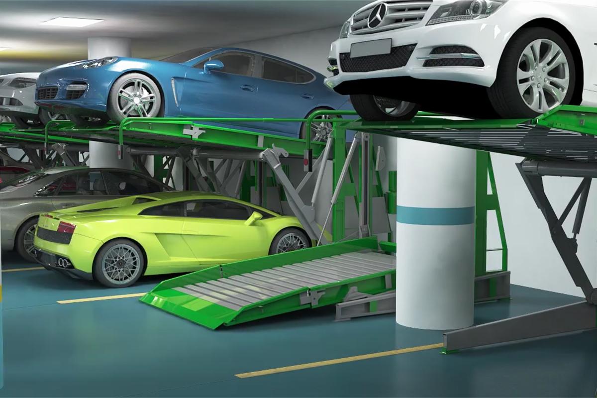 Увеличение ёмкости паркинга